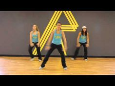 """REFIT CARDIO DANCE FITNESS, Christian Reggaeton """"Siguelo"""" by Funky working on shoulders and thighs!"""