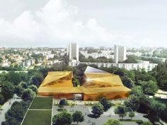 Multi-Sports Complex Competition Winning Proposal / Archi5 + Tecnova Architecture