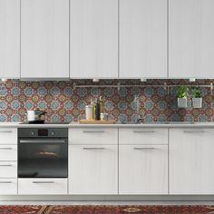 Backsplash IBIZA | Ikea KITCHEN | 123kea ikeahack wallpaper