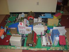 PBL for maps unit: How can we as architects recreate a model of our community?