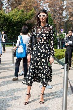 Giovanna Battaglia Paris a fashion week AH'14/'15