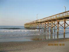 Holden Beach pier.
