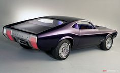 1970 Ford Mustang Milano concept #MuscleCar