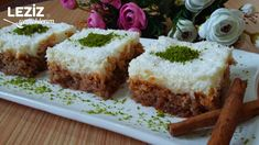 Kıbrıs Tatlısı (Tarçınlı) Cheesecake, Food And Drink, Pudding, Muffin, Sweet, Desserts, Recipes, Candy, Tailgate Desserts