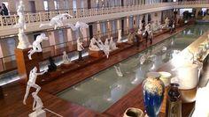 L'installation que des étudiants de l'ESAAT de Roubaix ont réalisée dans le Bassin de La Piscine