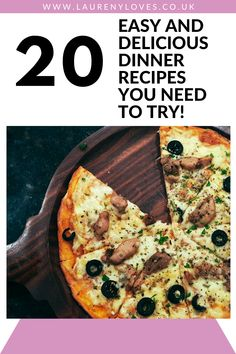 20 delicious dinner recipes you need to try. Read this and find 20 cheap dinner ideas to try tonight. Hearty and healthy dinner ideas that won't break the bank. For quick and easy dinner recipes you'll love click this and cook up something tasty! #dinnerrecipes #dinnerideas #easydinnerrecipes Quick Meals To Make, Cheap Easy Meals, Cheap Dinners, Food To Make, Pasta Bake Sauce, Easy Recipes, Whole Food Recipes, Turkey Curry, Roast Dinner