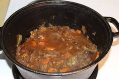 Best school lunch ever - Grassfed Beef Stew