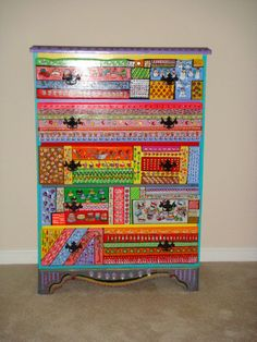 Dressed up Dresser. $2,300.00, via Etsy.