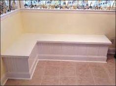 modular corner storage chair. kitchen nook bench, corner seating, nooks modular storage chair