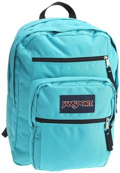 The JanSport Big Student School Backpack is a large capacity backpack that  will easily hold everything 8d15b96d7ddb3