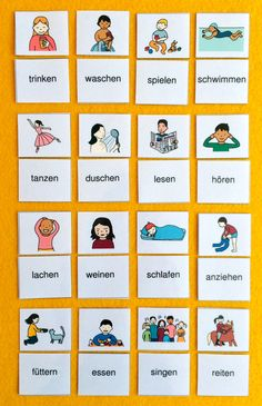 You can find this and many other free learning materials from the world French Lessons, Spanish Lessons, Teaching Spanish, Spanish Activities, Teaching French, German Grammar, German Words, Learn German, Learn French