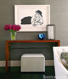 """Sometimes simpler is better.  Think """"favorite things"""" when trying to recreate a look like this. - Traditional Home®"""