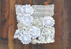 DIY Lace Doily Curtain | Free People Blog #freepeople