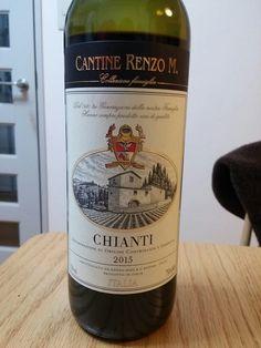 CANTINE RENZO M. レンツォ・マージキアンティ 赤ワイン 2015 イタリア産 セブンイレブン 1200円 ★★★★☆☆☆ 美味しい!