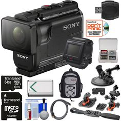 Sony Action Cam HDR-AS50R Wi-Fi HD Video Camera Camcorder