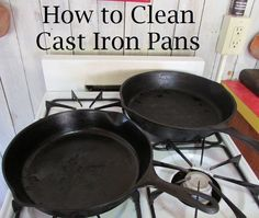 9 Tips for Caring for Cast Iron Pans | Hometalk