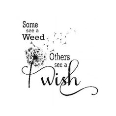 SVG DXF Some see a Weed Dandelion Weed Wish by AmaysingSVGs