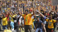 """Johannesburg, South Africa......President Zuma announces embargo on fee increases for the 2016 academic year, but protesters view it as a """"hollow"""" win."""