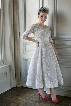 1950s wedding dresses c Heavenly Vintage Wedding Blog