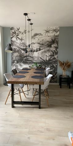 Pin on Lounge diner Pin on Lounge diner Dining Room Walls, Dining Room Design, Living Room Decor, Dining Room Inspiration, Home Comforts, Home Decor Kitchen, House Rooms, Home And Living, House Design