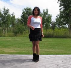 Wearing Isabel Marant Skirt and Bazil Boots