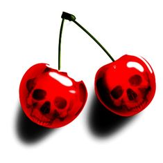 Skull Cherries http://www.creativeboysclub.com/tags/we-love-skulls