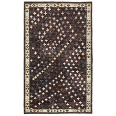 Hand-knotted Nisha Contemporary Rug