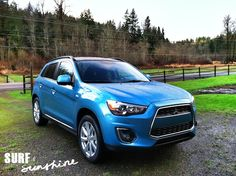 The 2013 Mitsubishi Outlander Sport: A Crossover for the Active Small Family