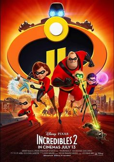 Mr Incredible Stays at Home With the Kids While Elasti-Girl Goes Out to Superhero – the New Incredibles 2 Trailer