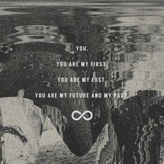 Future/Past - John Mark McMillan part of my ongoing lyric design series. http://instagr.am/meeshwilson