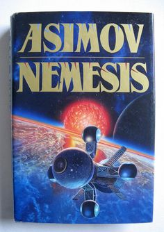 Vintage Hardcover Science Fiction Book Nemisis by ShuuShuubyLulu