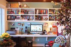 Querido Refúgio, Blog de decoração e organização com loja virtual: Espaços pequenos e escritórios de sonhos - Home Office