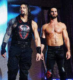Roman Reigns & Seth Rollins of the shield Wwe Seth Rollins, Seth Freakin Rollins, Brie Bella, Nikki Bella, Roman Reighns, Roman Reigns Dean Ambrose, Wwe Total Divas, The Shield Wwe, Wwe Roman Reigns