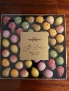 Fortnum and Mason Marzipan Fruits