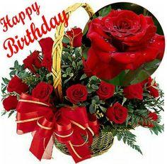 Happy Birthday Flowers Wishes, Free Happy Birthday Cards, Happy Birthday Black, Beautiful Birthday Wishes, Happy Birthday Video, Happy Birthday Celebration, Birthday Wishes Messages, Birthday Wishes And Images, Happy Birthday Wishes Cards
