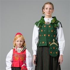 Barn - Bunad - Norsk Flid nettbutikk og bunader Norway, Costumes, My Style, Barn, Bye Bye, Jackets, Dresses, Fashion, Down Jackets