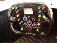 f1 steering wheels   Toyota F1 steering wheel