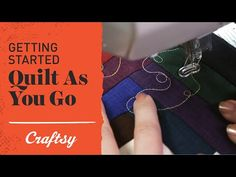 VIDEO: Quilt as you go (QAYG) makes large projects totally manageable, even on a small machine. Join Angela Walters on Craftsy Quilting's YouTube channel to learn more.