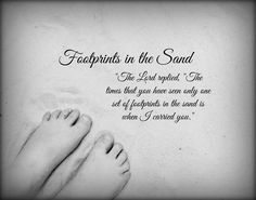 ed2196a132a1c42eb7be476c83a92fba footprints the sand footprints in the sand poem ve always loved the footprints in