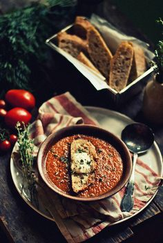 Roasted Tomato & Carrot Soup