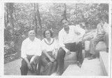 From left to right, Olaf Foster, Marjorie Foster, Bud (William) Foster and Leonard Foster