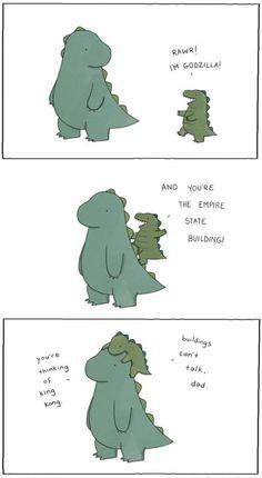 I'm Godzilla