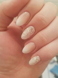 69 Ideas for wedding pedicure hair colors Cute Nails, Pretty Nails, My Nails, Wedding Nail Polish, Wedding Nails, Wedding Pedicure, Hair Wedding, Design Ongles Courts, Almond Acrylic Nails