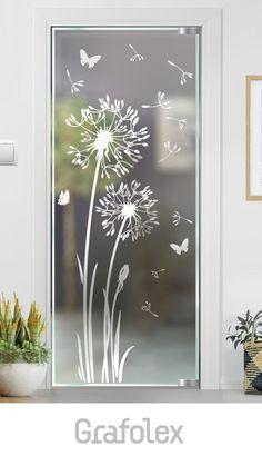 Glass Partition Designs, Window Glass Design, Frosted Glass Design, Frosted Glass Window, Frosted Glass Interior Doors, Etched Glass Door, Glass Barn Doors, Glass Etching Designs, Stained Glass Designs