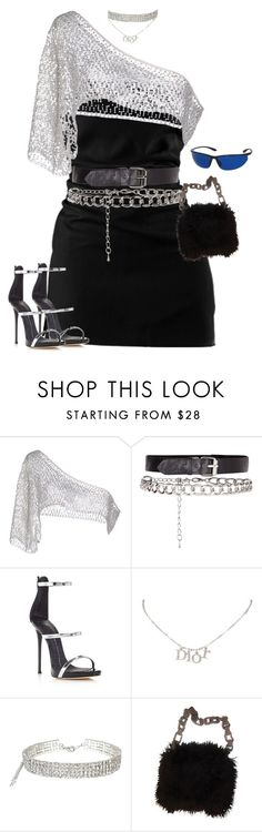 """HYPNOTIC"" by auroralaufeyson ❤ liked on Polyvore featuring Filles à papa, Giuseppe Zanotti, Christian Dior and Chanel"