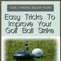 how to improve your #Golf ball strike