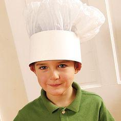 Art Chef Hats Craft crafts