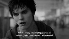Warm Bodies Tv Show Quotes, Movie Quotes, Warm Bodies Movie, Body Quotes, Whats Wrong With Me, John Malkovich, Movie Lines, Fantasy Movies, Popular Quotes