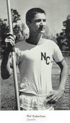 Phil Robertson -javelin