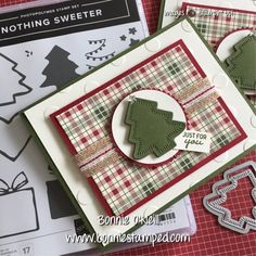 Note Cards featuring the Nothing Sweeter Bundle Scrapbook Christmas Cards, Christmas Cards 2018, Xmas Cards, Holiday Cards, Making Greeting Cards, Greeting Cards Handmade, Winter Karten, Stampin Up, Nouvel An